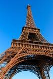 De Toren van Eiffel in Parijs Frankrijk stock fotografie