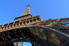 De Toren van Eiffel in Parijs Frankrijk royalty-vrije stock afbeeldingen