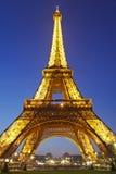 De Toren van Eiffel in Parijs, Frankrijk. Royalty-vrije Stock Afbeeldingen