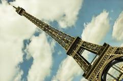 De Toren van Eiffel in Parijs, Frankrijk Stock Foto's
