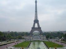 De Toren van Eiffel, Parijs, Frankrijk Stock Afbeeldingen