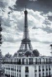De Toren van Eiffel in Parijs, Frankrijk Stock Foto
