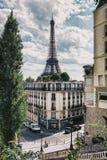 De Toren van Eiffel in Parijs, Frankrijk Stock Fotografie