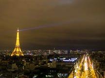 De Toren van Eiffel, Parijs, Frankrijk Stock Fotografie