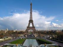 De Toren van Eiffel, Parijs, Frankrijk Stock Foto