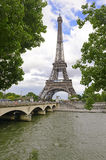De Toren van Eiffel, Parijs, Frankrijk Stock Afbeelding