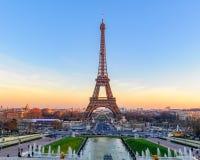 De Toren van Eiffel, Parijs, Frankrijk Royalty-vrije Stock Afbeeldingen