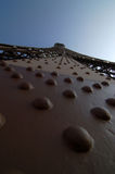 De toren van Eiffel in Parijs Frankrijk Royalty-vrije Stock Foto's