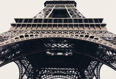 De toren van Eiffel in Parijs, horizontaal Frankrijk - Stock Foto