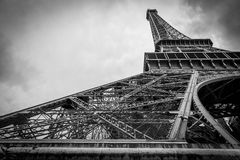 De Toren van Eiffel in Parijs II Royalty-vrije Stock Afbeeldingen