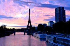 De toren van Eiffel, de stad van Parijs, Frankrijk royalty-vrije stock foto's