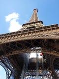 De toren van Eiffel tijdens onderhoudsrevisie Stock Fotografie