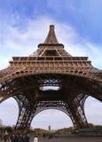 De toren van Eiffel van Parijs in Frankrijk Stock Foto