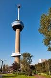 De toren van Euromast in Rotterdam Stock Afbeelding