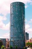 De Toren van Frankfurt Westhafen Royalty-vrije Stock Afbeeldingen