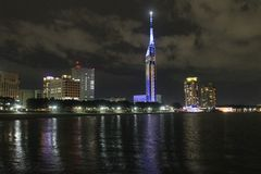 De Toren van Fukuoka Royalty-vrije Stock Afbeelding