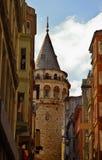 De Toren van Galata Stock Foto's
