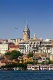 De Toren van Galata Stock Foto