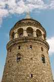 De Toren van Galata stock afbeelding