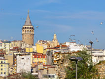 De toren van Galata Royalty-vrije Stock Foto