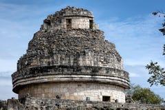 De toren van Gr Caracol in Chichen Itza Royalty-vrije Stock Afbeeldingen