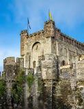 De toren van Gravensteen Royalty-vrije Stock Fotografie
