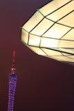 Toren bij nacht Royalty-vrije Stock Afbeeldingen