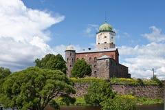De toren van heilige Olaf in Vyborg Royalty-vrije Stock Foto