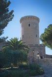 De toren van het Bellverkasteel Royalty-vrije Stock Foto