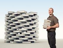De toren van het boek Stock Foto's