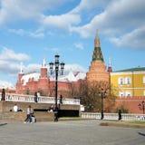 De Toren van het de Hoekarsenaal van Moskou van het Kremlin 2011 Royalty-vrije Stock Afbeeldingen