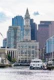 De Toren van het douanehuis in Boston Stock Afbeelding