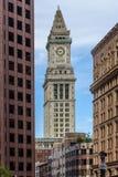 De Toren van het douanehuis in Boston Stock Fotografie