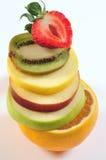De toren van het fruit. royalty-vrije stock foto's