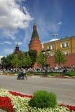 De Toren van het Hoekarsenaal in Moskou het Kremlin Stock Foto's