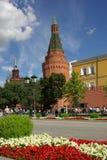 De Toren van het Hoekarsenaal in Moskou het Kremlin Royalty-vrije Stock Foto's