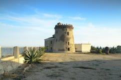 De toren van het horloge in Pilar DE La Horadada, Spanje Royalty-vrije Stock Afbeelding