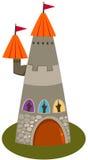 De toren van het kasteel Royalty-vrije Stock Foto