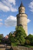 De toren van het kasteel in Duitsland Royalty-vrije Stock Foto's