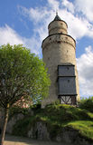 De toren van het kasteel in Duitsland Stock Afbeelding