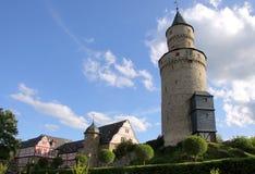 De toren van het kasteel in Idstein Royalty-vrije Stock Foto