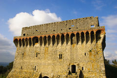 De toren van het kasteel, Ourem Royalty-vrije Stock Afbeeldingen
