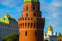 De toren van het Kremlin stock afbeeldingen