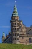De toren van het Kronborgkasteel Stock Foto