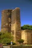 De Toren van het meisje (Baku) Royalty-vrije Stock Foto