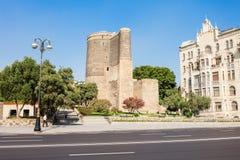 De Toren van het meisje in Baku Royalty-vrije Stock Foto's