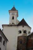 De toren van het Mukachevokasteel Stock Foto's