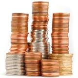 De toren van het muntstuk Stock Foto's