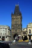 De Toren van het poeder Stock Fotografie
