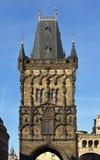 De Toren van het poeder Stock Afbeelding